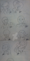 Team Fortress 2 Chibi Classes by Fernandathehedgehog