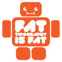 Fat Typography by Yei-Pi