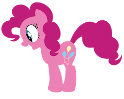 pinkie pie vector by shadowandtwilight