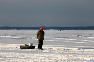 Gone Ice Fishin' by LifeThroughALens84