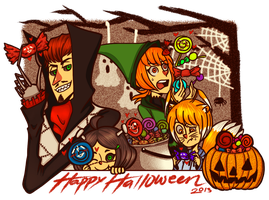 CR: Trick or Treat! by chan2x