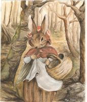 Beatrix Potter Rabbit by mayu-chan6