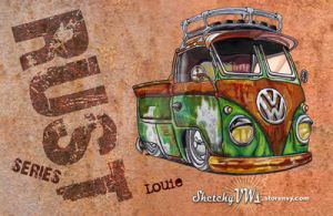 SVWs Rust Series - Louie by SketchyVWs