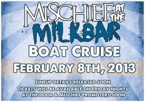 boat cruise flyer. by stephhabes