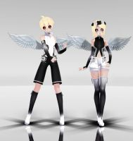 Immortalist Rin and Len MMD download by Reon046