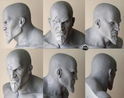 KRATOS BUST by ddgcom