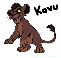 Kovu by AmyroseXDSonic