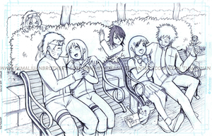 Double Date pencils by sykoeent
