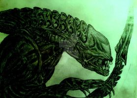 Xenomorph Alien by Beethovium