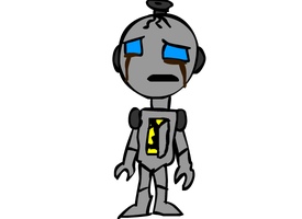 Primo the Incomplete Cyborg by DigitalPear