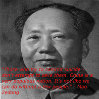 Mao on suicide by TheNewDoge