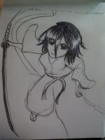 Rukia in Actions by yumehime04