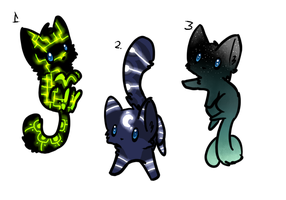 Kitten adoptables batch 7 by Apriifox