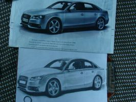 Audi A4.......Finally  complet by bloodhound3