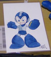 Megaman by AmberStoneArt