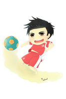 Beach soccer by waad11