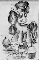 Sugar Belle and her Stuff by HeroMewtwo