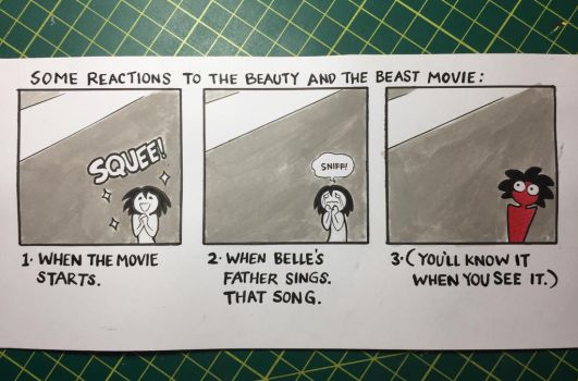 Some Reactions to Beauty and the Beast by maryfgr23