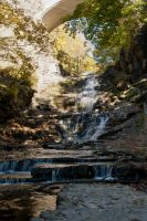 Cascadilla Gorge V by xDx