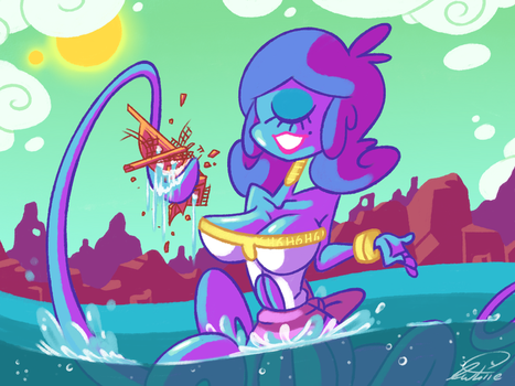 Ship Smasher by Squid-Apple