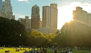 Central Park. by Thoesoe
