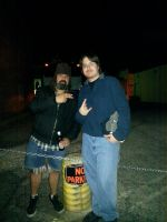 Me with Jimmy Bower of SUPERJOINT RITUAL by metalheadrailfan