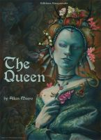 The Queen - Book Cover by FrancescaBaerald