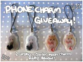 ~ Phone Charm Giveaway ~ [CLOSED] by WanNyan