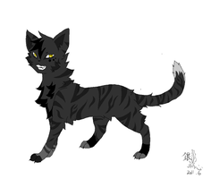 Darkstripe by Silver-Feather-Heart