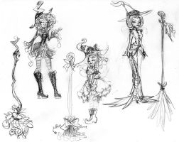 HalloWitch sketches 06 by DAgStar