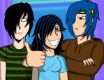 Kila, Scott, and Rory (Request) by geekgirl8