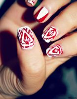 Assassin's Creed 3 Nail Art by AnnieOh