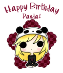 .:Happy Birthday Panda:. by ZounDNoiZe