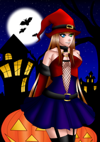 Haya Halloween 2012 by bymika
