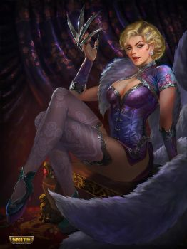 Seductress Da Ji - Smite by jaggudada