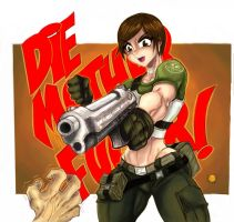 resident evil by ONELOUSYCAT