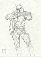 boba fett mandalore pencils by UGCcomics
