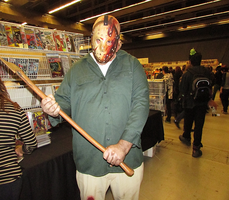 Jason Voorhees - Montreal Mini Comic Con 2015 by J25TheArcKing