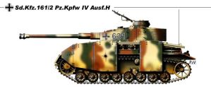 Sd Kfz 161 2 Pz Kpfw IV Ausf H by nicksikh