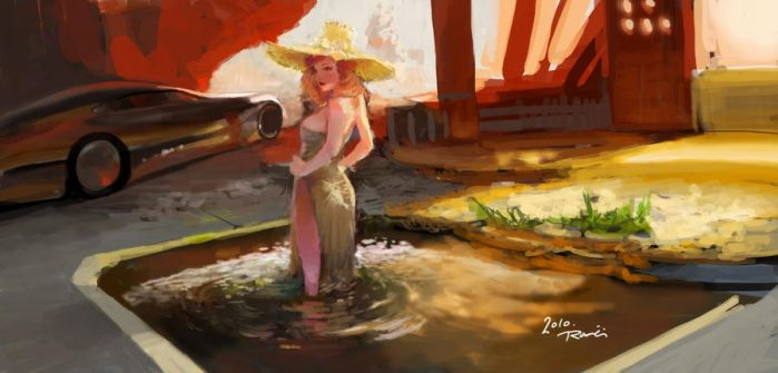 speed painting by Enaxor
