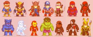 Mini Marvel by EddieHolly