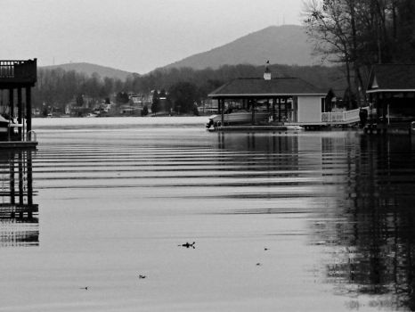Lake BW by sammiexrenee89