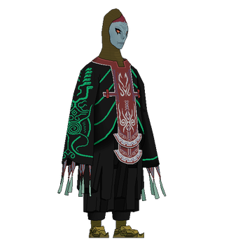 Old Paint Drawings: Zant (redo) by ShrubbyNerb