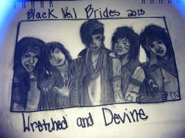 Black Veil Brides 2013 Wretched and Divine by rememberme4ever1