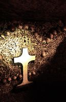 Crucifix in the Catacombs by sapphiresphinx