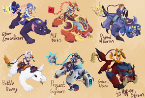 Sejuani skins that will never happen ver 6 by Hyper-Stan