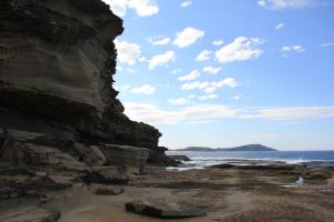 Cliff Terrigal by FlamingAvocado