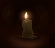 Candle by Lizandre