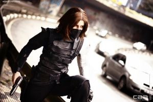 COSPLAY - Winter Soldier CAACOSPLAY VI by MarineOrthodox