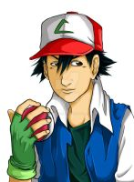 Ash Ketchum by jeefSales